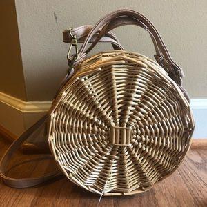 Summer Straw Crossbody Bag